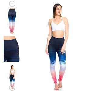 Beyond yoga lux print high waist legging